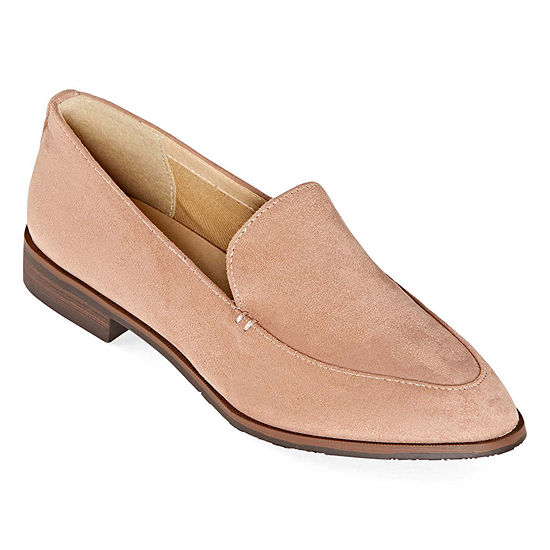 CL by Laundry Womens Farris Loafers Pointed Toe