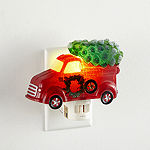 "North Pole Trading Co. 5.5"" Red Truck Night Light"