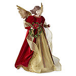 "North Pole Trading Co. 17"" Traditional Angel Tree Topper"