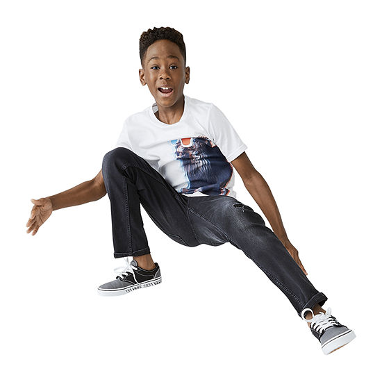 Arizona Boys Graphic Tee & Advance Flex 360 Jean