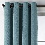 JCPenney Home Beckett Blackout Grommet-Top Single Curtain Panel