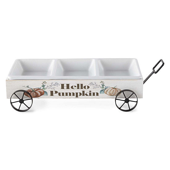 JCPenney Home Wagon Serving Platter