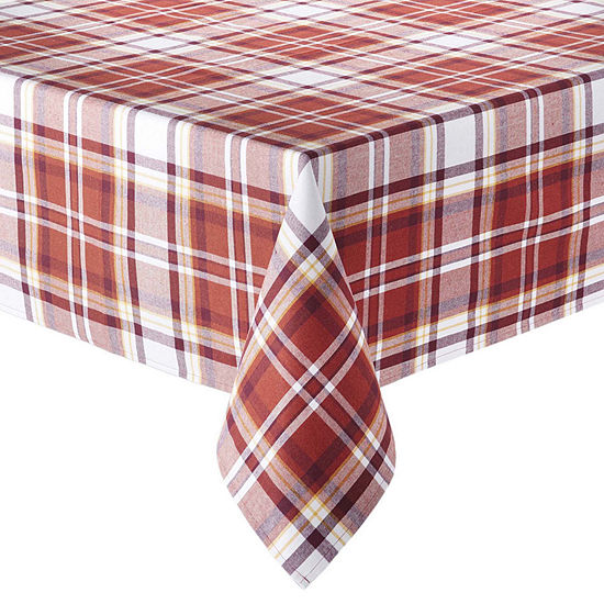 JCPenney Home Plaid Tablecloth