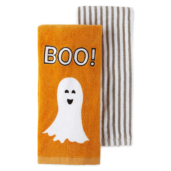 JCPenney Home Boo 2-pc. Kitchen Towel