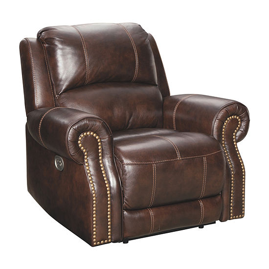 Signature Design by Ashley Buncrana Roll-Arm Recliner