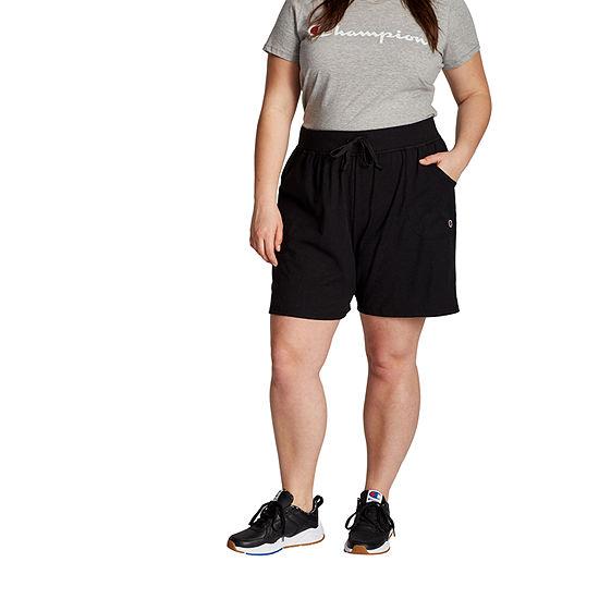 Champion Womens Drawstring Waist Soft Short-Plus