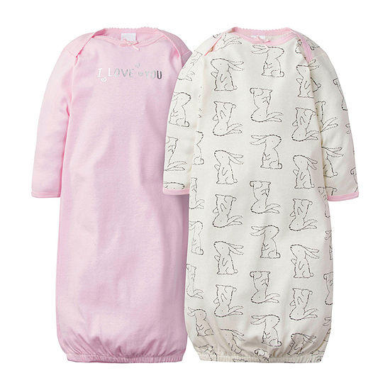 Gerber 2-pc. Girls Nightgown Crew Neck