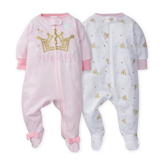 Gerber Baby Girls 2-pc. Sleep and Play