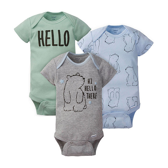 Gerber Boys 3-pc. Bodysuit-Baby