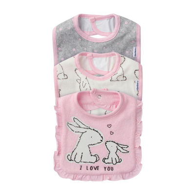 Gerber Girls 3-pc. Bib