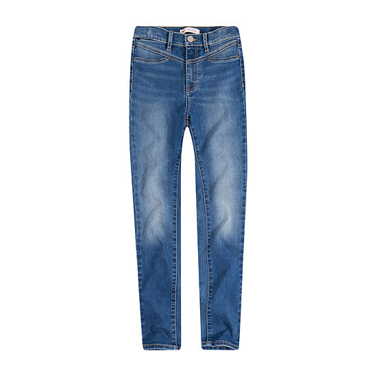 Levi's Girls High Waisted 720 Skinny Fit Jean Big Kid