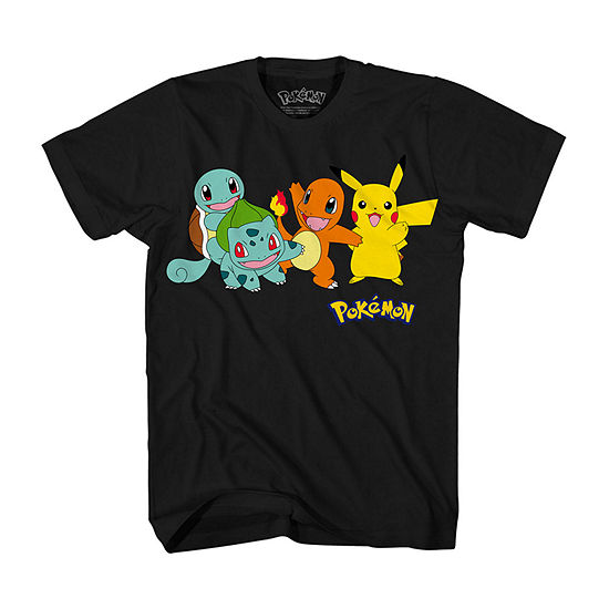 Mens Pokemon Graphic T-Shirt