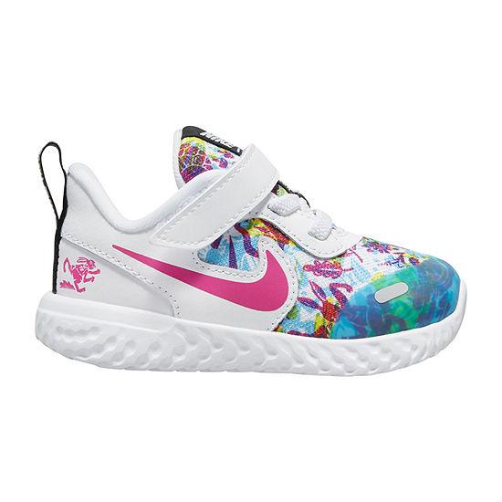 Nike Revolution 5 D2n Toddler Girls Running Shoes