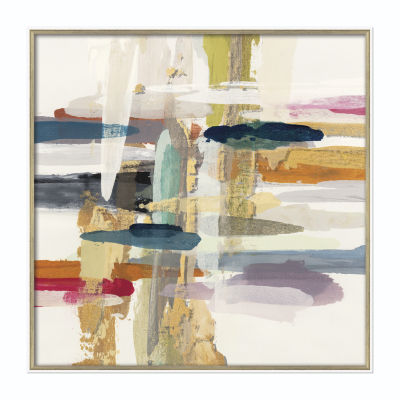 "Boston Warehouse 36"" x 36"" Inch Horizon Framed Art"