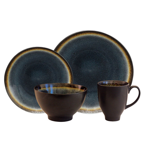 Baum Galaxy Coupe 16-pc. Dinnerware Set - JCPenney