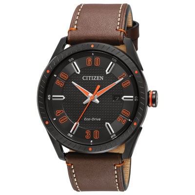 Drive from Citizen Brown Strap Watch-Bm6995-19e