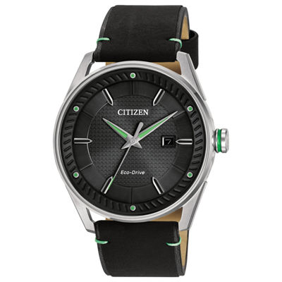 Citizen Mens Black Strap Watch-Bm6980-08e