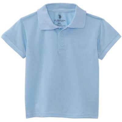 U.S. Polo Assn.® Short-Sleeve School Uniform Polo - Toddler Boys 2t-4t