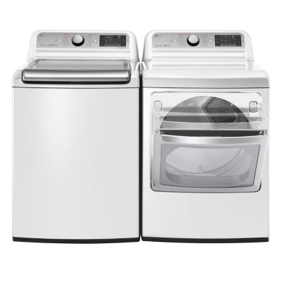 LG ENERGY STAR® 5.2 Cu.Ft. Ultra-Large Capacity Top-Load Washer
