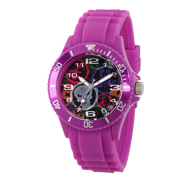 Classic Marvel Mens Purple Strap Watch-Wma000067