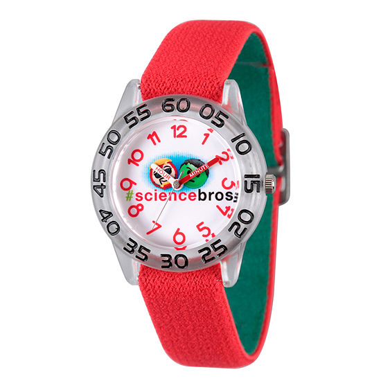 Marvel Emoji Marvel Boys Red Strap Watch-Wma000082