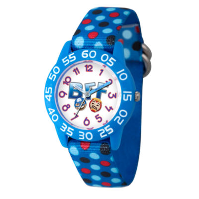 Emoji Marvel Boys Blue Strap Watch-Wma000083