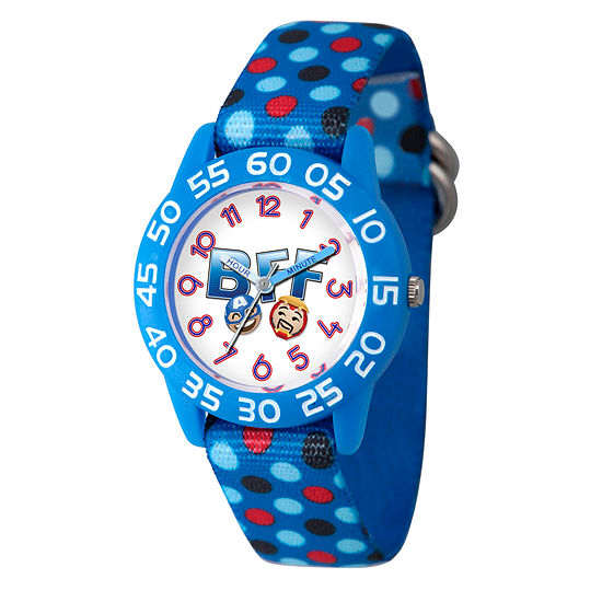 Marvel Emoji Marvel Boys Blue Strap Watch-Wma000083