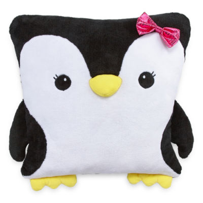 Total Girl Square Throw Pillow
