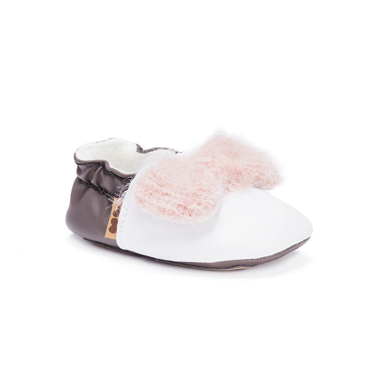 MUK LUKS Baby Soft Shoes, Unisex, Ballerina, Size 6-12 Months
