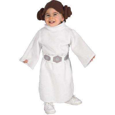 Star Wars Princess Leia Fleece Infant / Toddler Costume - 2-4T