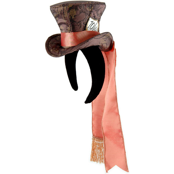 Alice In Wonderland Movie - Cocktail Mad Hatter Hat Adult - One-Size