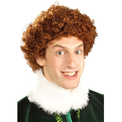 Buddy Elf Wig Mens Dress Up Accessory