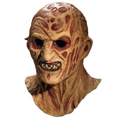 Deluxe Freddy Krueger Overhead Latex Mask - One Size