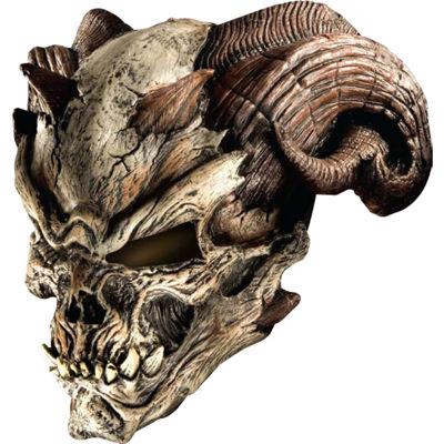 Cave Demon Mask Mens Dress Up Accessory