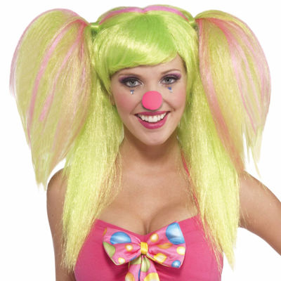 Circus Sweetie Lollypop Lilly Wig - One-Size