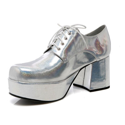 Silver Adult Shoes - Small (8-9)