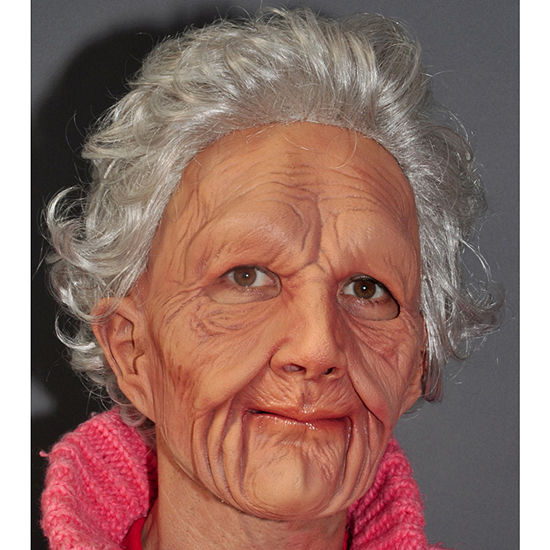 Supersoft Old Woman Adult Mask