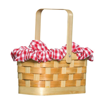Gingham Basket Womens 2-pc. Dress Up Accessory