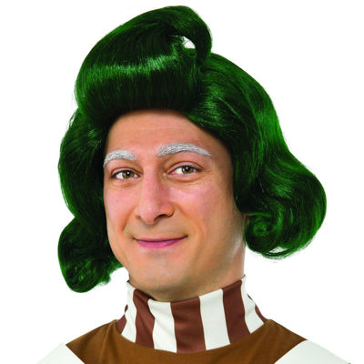 Willy Wonka & the Chocolate Factory Oompa Loompa Adult Wig