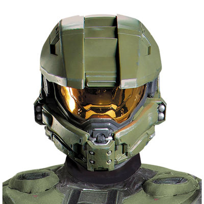 Halo 3 Master Chief 2 piece Vacuform Adult Mask
