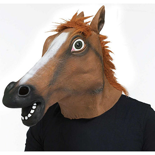 Horse Head Mask Unisex Dress Up Accessory