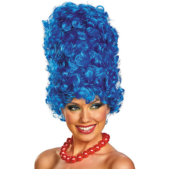 The Simpsons: Marge Deluxe Glam Adult Wig