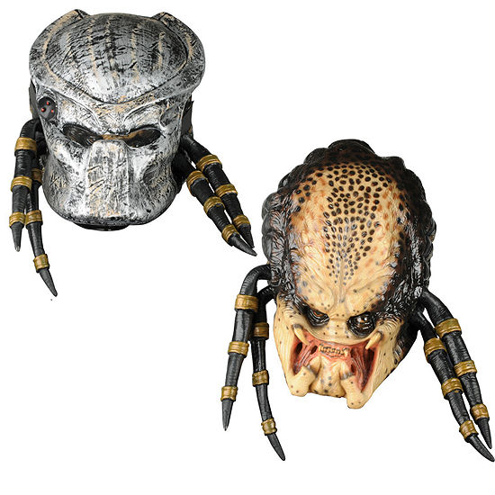 Predator Deluxe Adult Mask w/Removable Faceplate