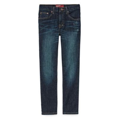 Arizona Stretch Straight Leg Jeans - Boys 4-20 and Husky