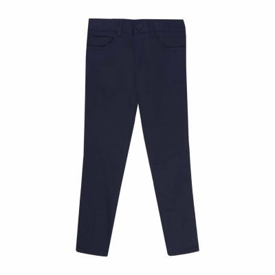 French Toast Skinny Five-Pocket Pant - Big Kids Girls