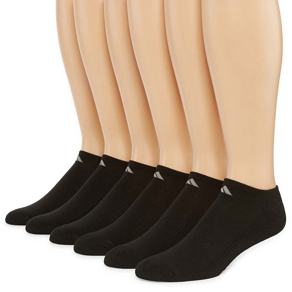 adidas® Mens 6-pk. Athletic Cushioned No-Show Socks
