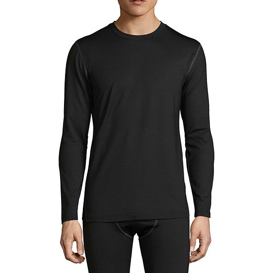 Fruit of the Loom Premium Heavyweight Tech Fleece Crew Long Sleeve  Thermal Shirt