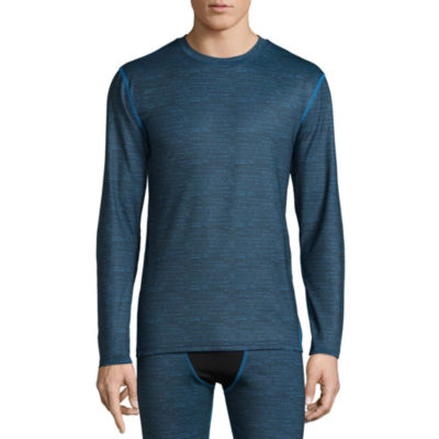 Fruit Of The Loom Crew Neck Long Sleeve Thermal Shirt