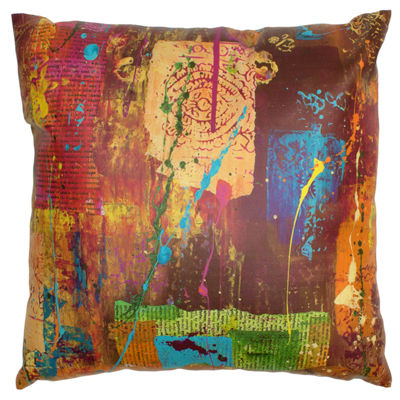 Oriental Furniture India By Gita Throw Pillow