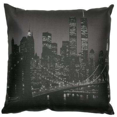 Oriental Furniture Brooklyn Bridget At Night Throw Pillow